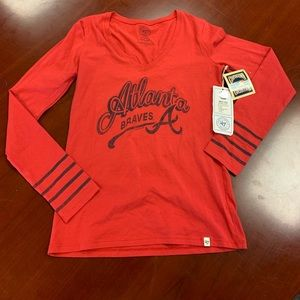 Forty Seven Brand Atlanta Braves Shirt M NWT